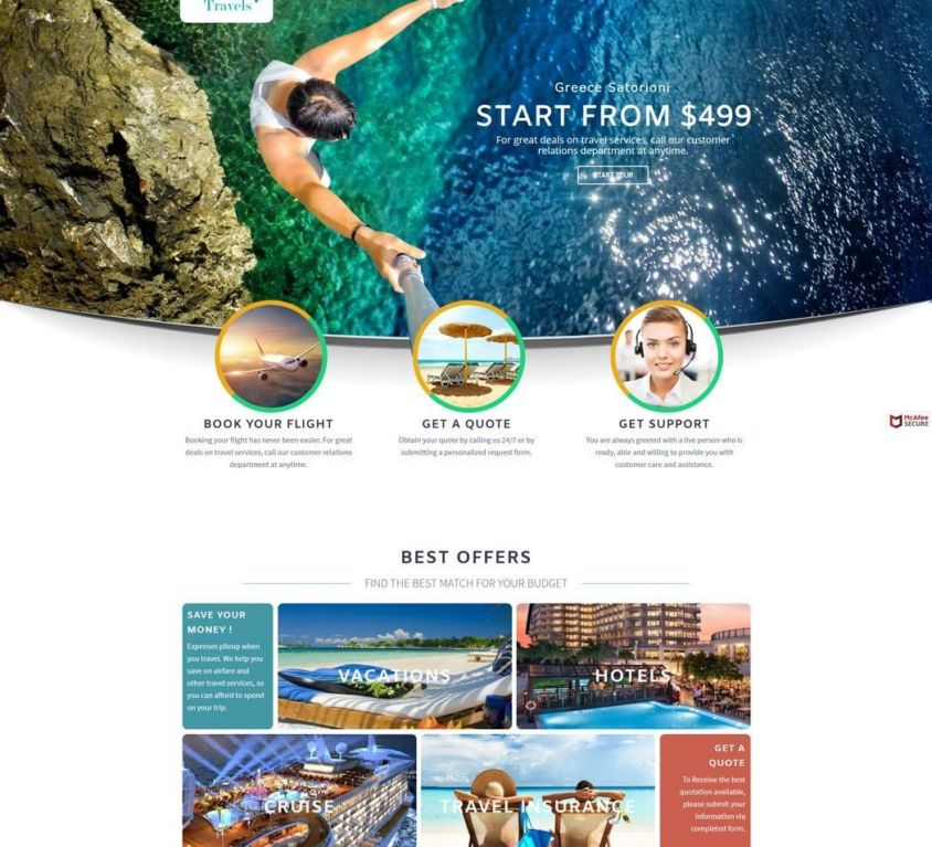 Suncity Travels Web Project