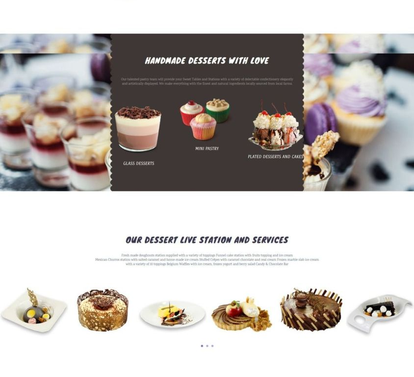 Vanilla en Glaze Website