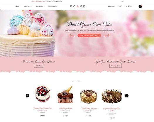Ecake Online Shopping Cart