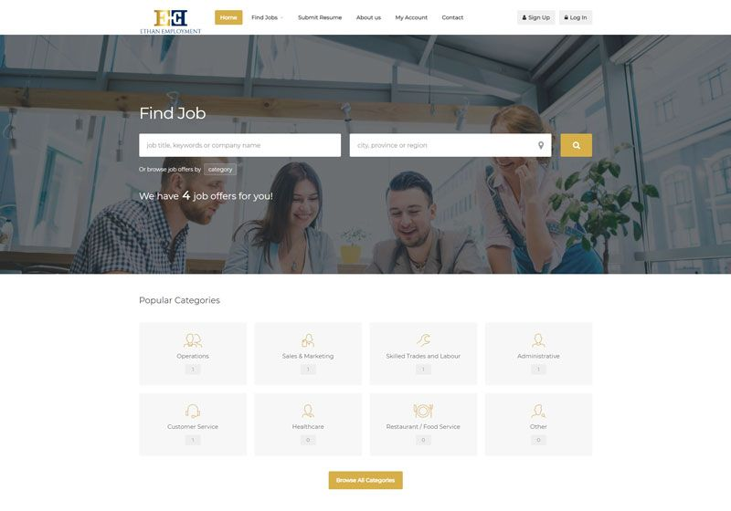 Ethan Employment Web Development